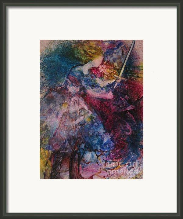 Believe And Decree Framed Print By Deborah Nell