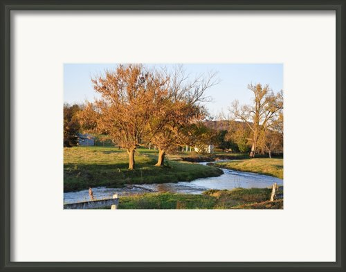 Bending Creek Framed Print By Jan Amiss Photography
