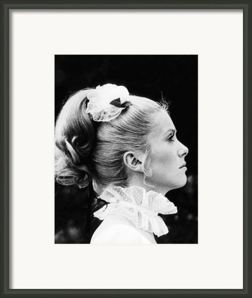 Benjamin, Catherine Deneuve, 1968 Framed Print By Everett