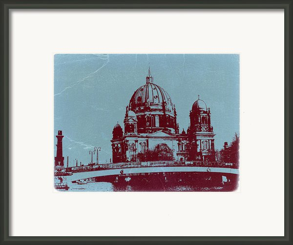 Berlin Cathedral Framed Print By Naxart Studio