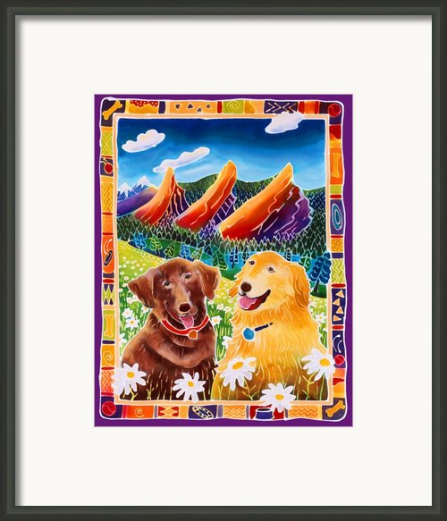 Best Friends Framed Print By Harriet Peck Taylor