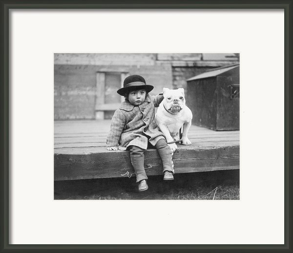 Best Friends Framed Print By Kirby