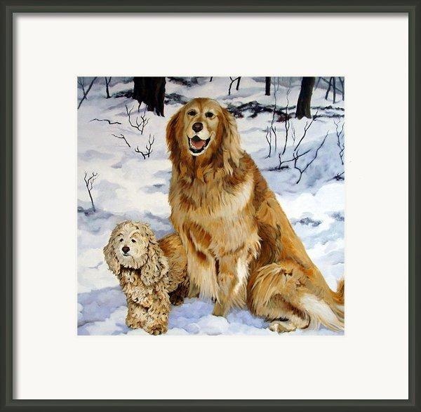 Best Friends Framed Print By Sandra Chase