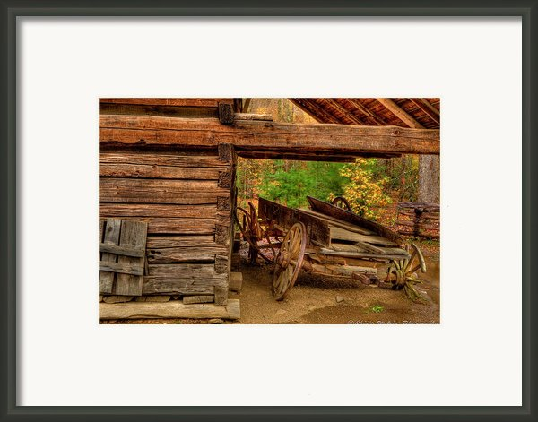 Better Days Framed Print By Charles Warren