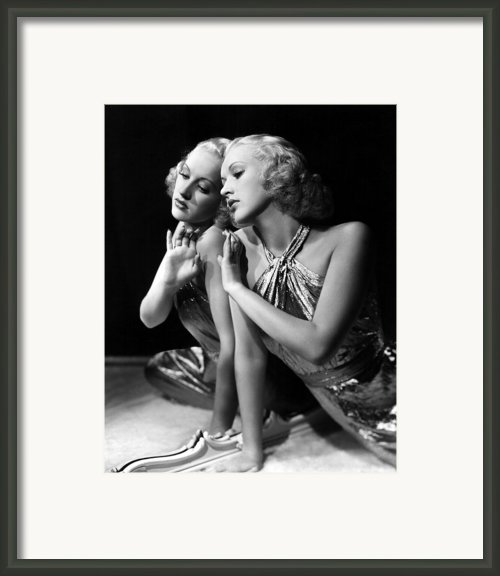 Betty Grable, 1930s Framed Print By Everett