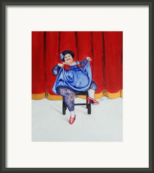 Betty Ii Framed Print By Matthew Lake