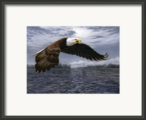 Between Nations Framed Print By Richard De Wolfe