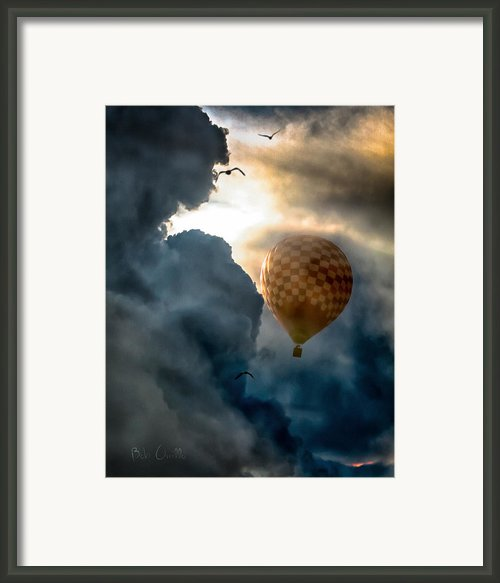 Between The Clouds Framed Print By Bob Orsillo