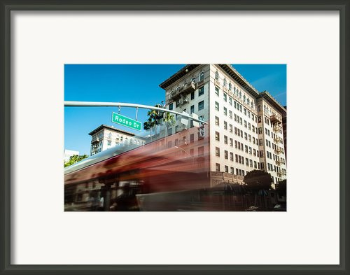 Beveryly Hills Two Framed Print By Josh Whalen