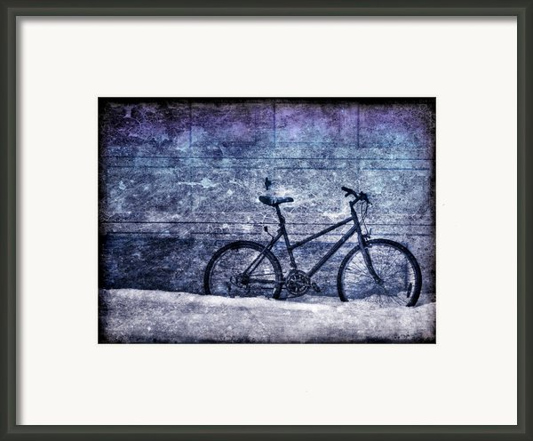 Bicycle Framed Print By Evelina Kremsdorf