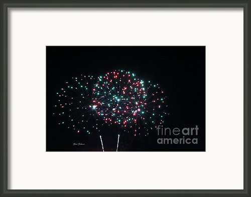 Big 3 Rings On Sky Framed Print By Yumi Johnson