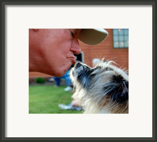 Big Daddy And Little Man Framed Print By Sharon Blanchard
