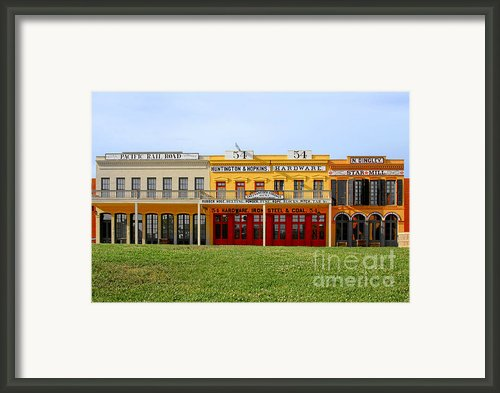 Big Four Building Sacramento California Framed Print By Christine Till