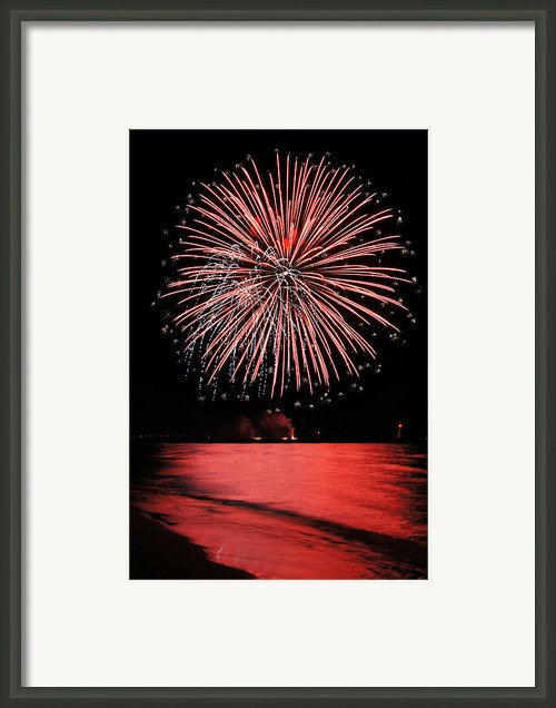 Big Red Framed Print By Bill Pevlor