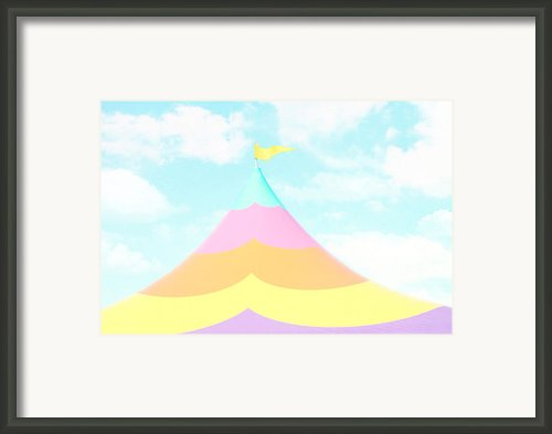 Big Top In The Sky Framed Print By Amy Tyler