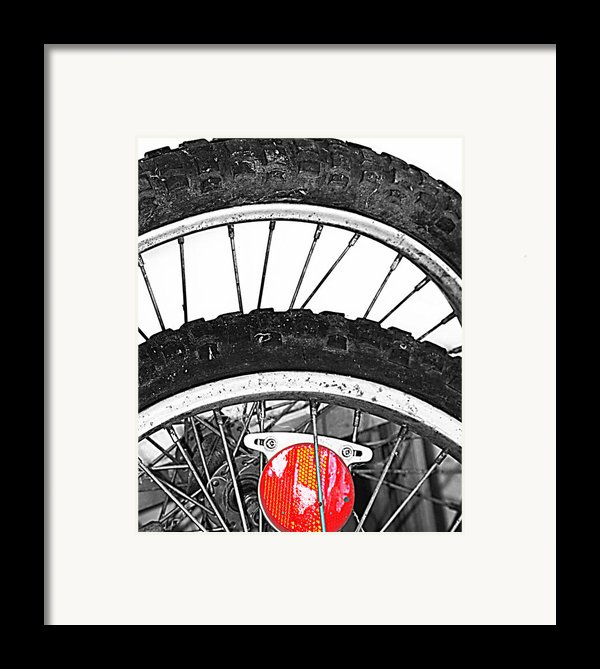 Big Wheels Keep On Turning Framed Print By Jerry Cordeiro