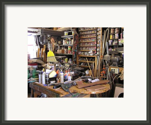 Bills Studio Framed Print By Bill Czappa