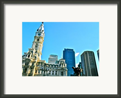 Billy Penn Framed Print By Brynn Ditsche