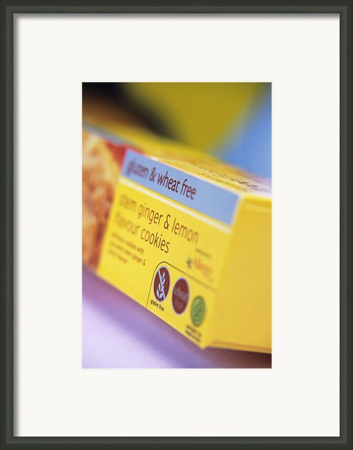 Biscuit Packaging Framed Print By Veronique Leplat
