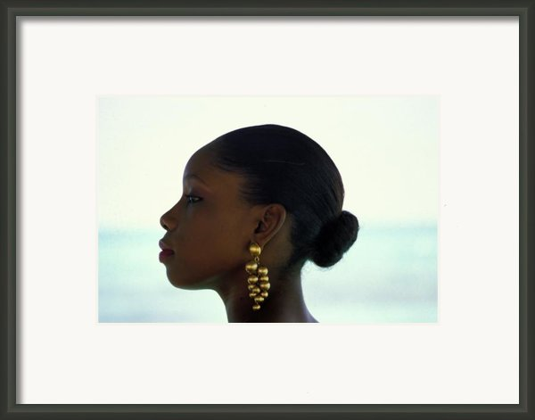 Black Beauty Framed Print By Carl Purcell