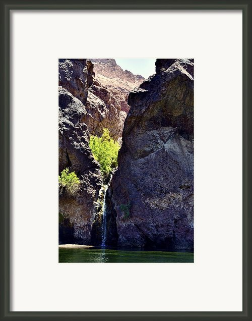Black Canyon Framed Print By Andre Salvador