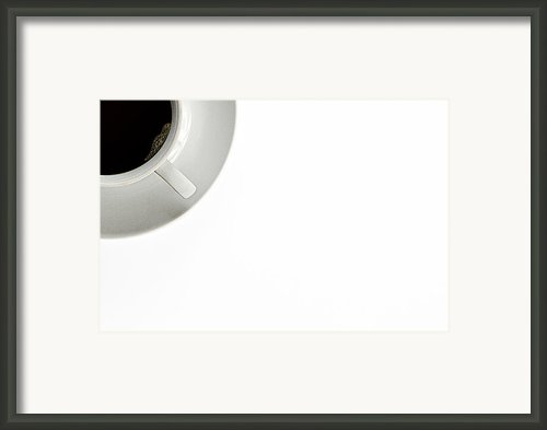 Black Coffee Framed Print By Gert Lavsen
