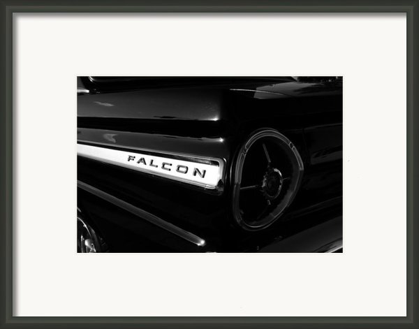 Black Falcon Framed Print By David Lee Thompson
