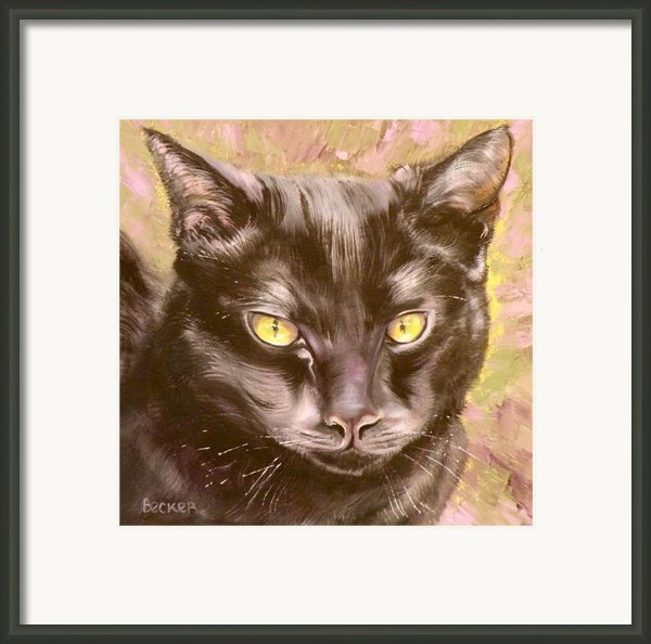Black Pearl Framed Print By Susan A Becker