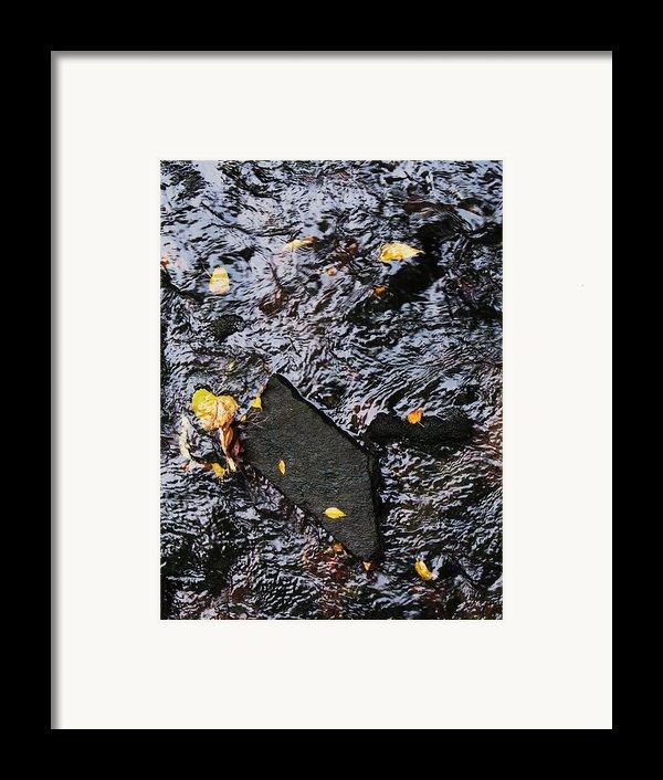 Black Rock At Graue Mill Framed Print By Todd Sherlock