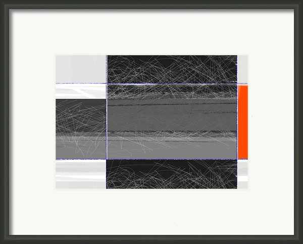Black Square Framed Print By Irina  March