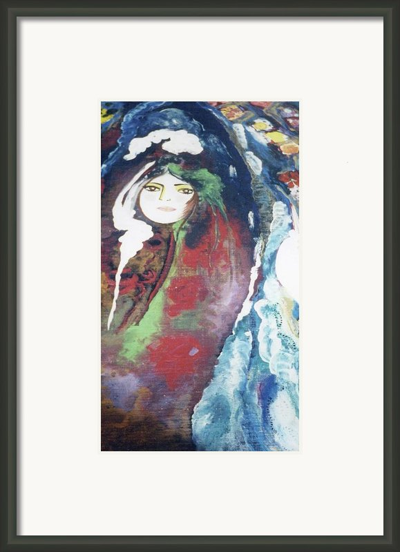Black Table Framed Print By Sima Amid Wewetzer