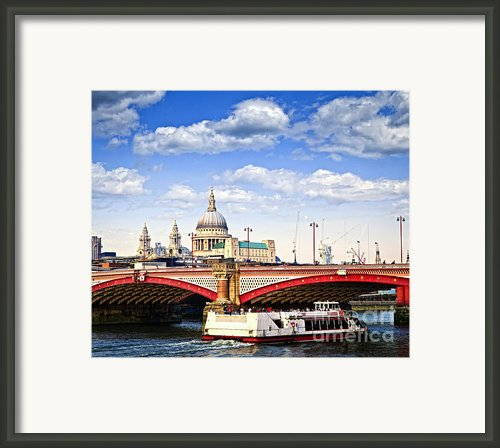 Blackfriars Bridge And St. Paul