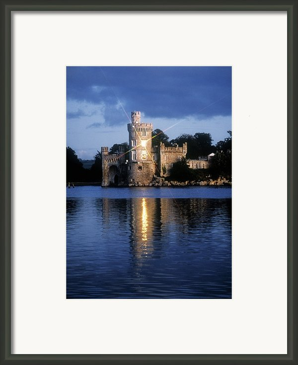 Blackrock Castle, River Lee, Near Cork Framed Print By The Irish Image Collection