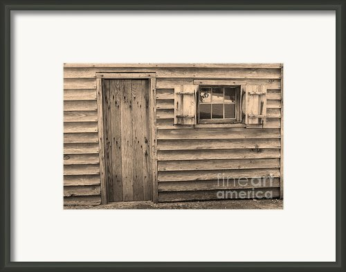 Blacksmith Shop Framed Print By Suzanne Gaff