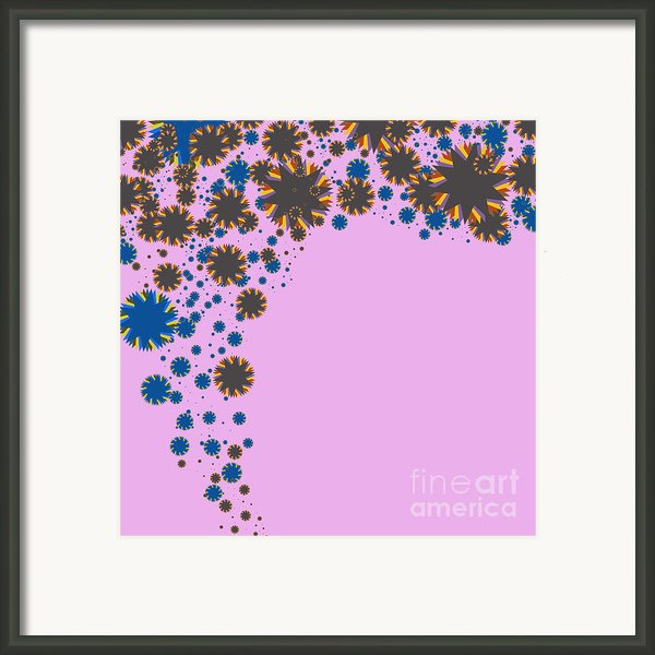 Blades On Purple Framed Print By Atiketta Sangasaeng