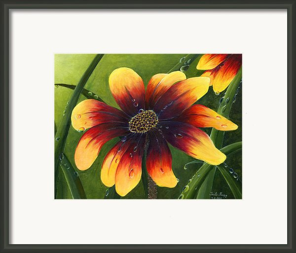 Blanket Flower Framed Print By Trister Hosang