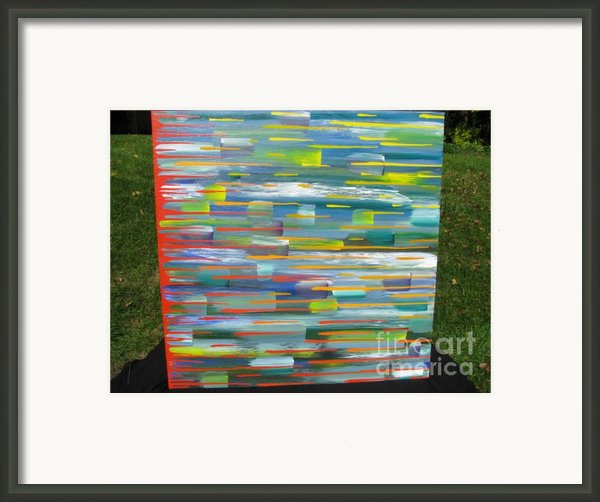 Blindsided Framed Print By Jacqueline Athmann