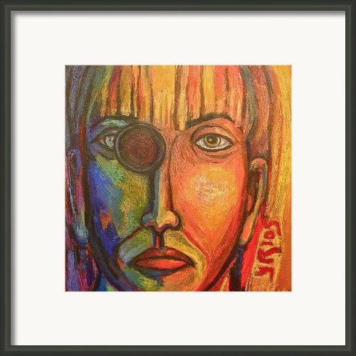 Blindsided Framed Print By Yulonda Rios