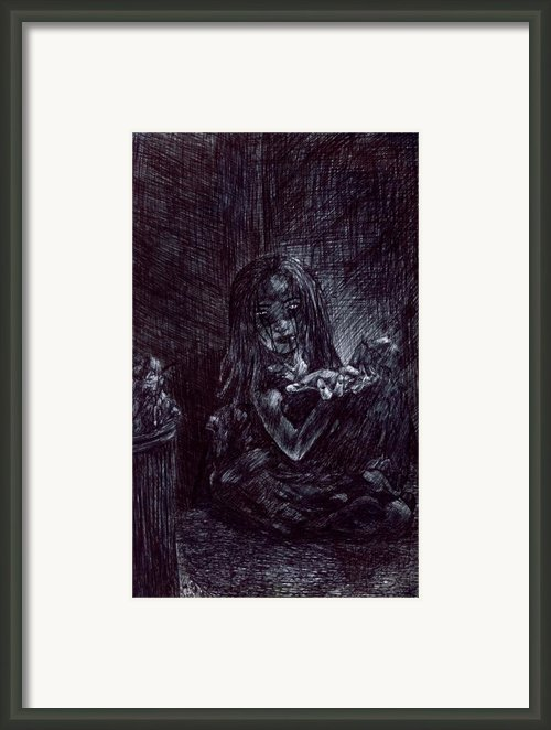 Blood Scars Framed Print By Kd Neeley
