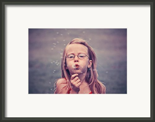 Blow Me Gently Framed Print By Aimelle Ml