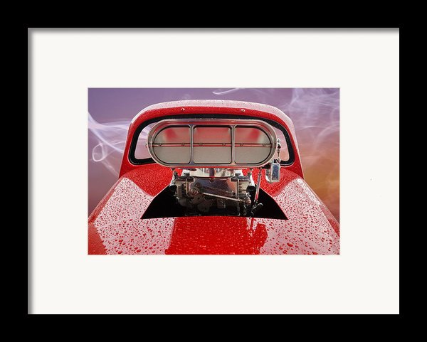 Blown Framed Print By Alan Hutchins
