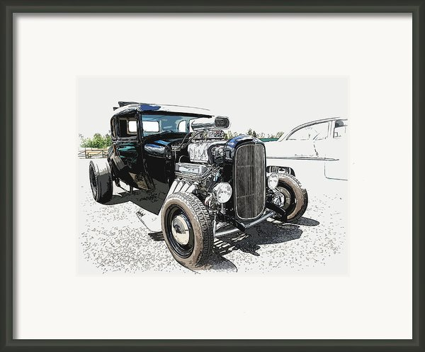 Blown Coupe Framed Print By Steve Mckinzie