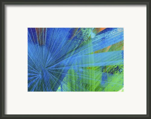 Blue 2 Framed Print By Kaypee Soh - Printscapes