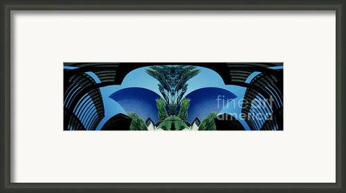 Blue Arches Framed Print By Paul W Faust -  Impressions Of Light