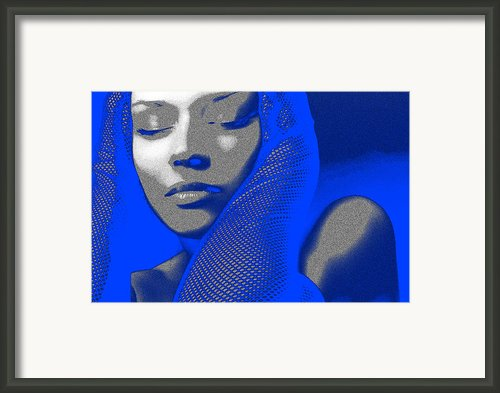 Blue Beauty Framed Print By Irina  March