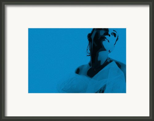 Blue Bride Framed Print By Irina  March