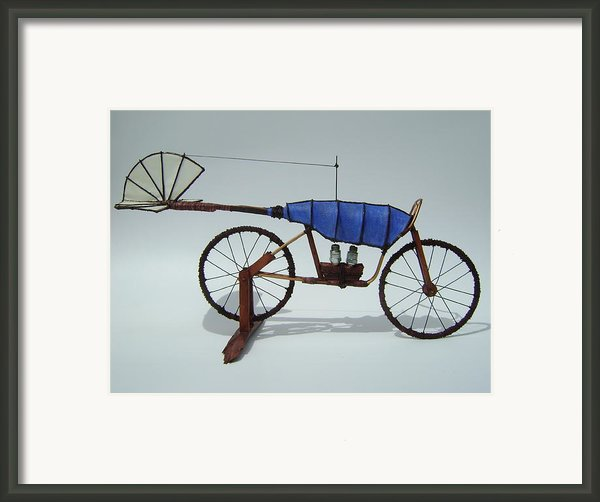 Blue Caravan Framed Print By Jim Casey