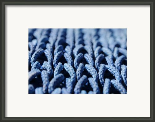 Blue Framed Print By Dan Holm