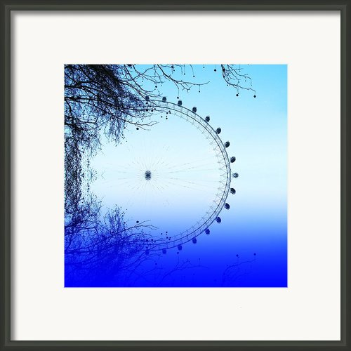 Blue Eye Framed Print By Sharon Lisa Clarke