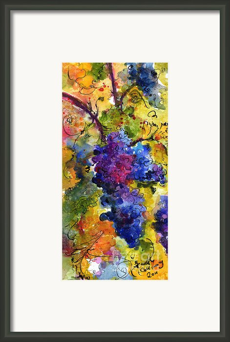 Blue Grapes Framed Print By Ginette Fine Art Llc Ginette Callaway